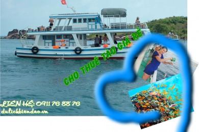 Cho thuê tàu giá rẻ