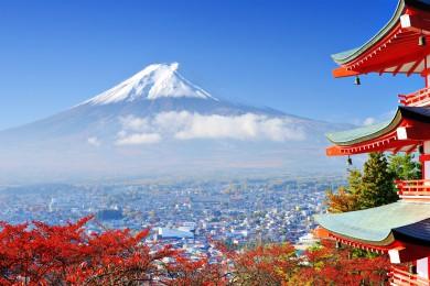 NHẬT BẢN: TOKYO - NARITA – FUJI - OSHI - KAMAKURA