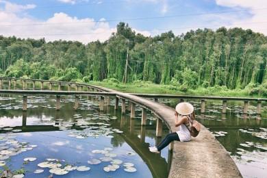 Làng nổi Tân Lập - Công viên kỳ quan thế giới