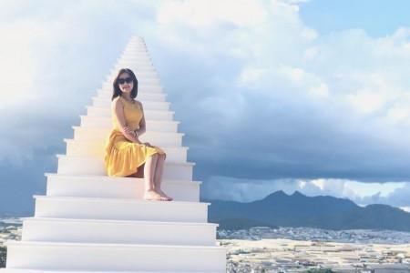 [Đà Lạt] Cầu thang vô cực - Đồi Chè - Hoa Sơn Điền Trang - Cổng Trời - Thác Pongour